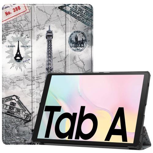 Design Trifold Bookcase Galaxy Tab A7 - Parijs