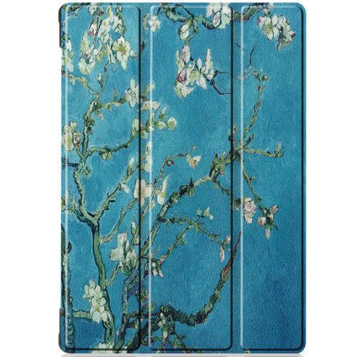Design Trifold Bookcase Lenovo Tab M10 - Groene Plant