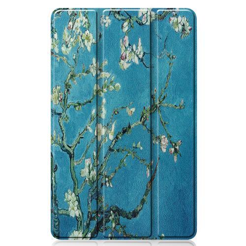 Design Trifold Bookcase Samsung Galaxy Tab S6 Lite - Groene Plant