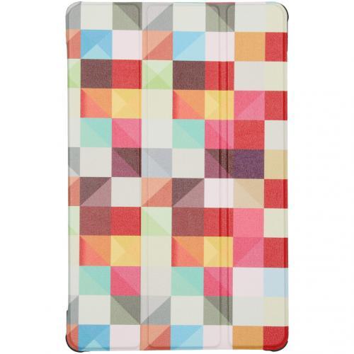 Design Trifold Bookcase Samsung Galaxy Tab S6 Lite - Kleurtjes