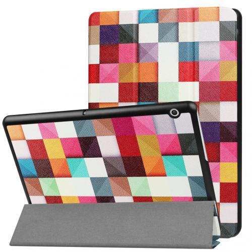 Design Trifold Bookcase voor de Huawei MediaPad T3 10 inch - Kleurtjes