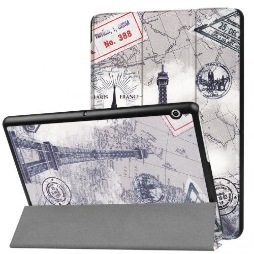 Design Trifold Bookcase voor de Huawei MediaPad T3 10 inch - Parijs