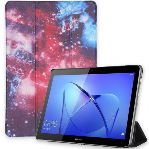 Design Trifold Bookcase voor de Huawei MediaPad T3 10 inch - Space Design