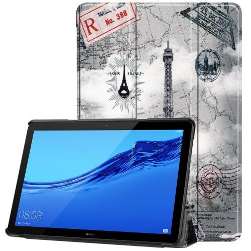 Design Trifold Bookcase voor de Huawei MediaPad T5 10.1 inch - Parijs
