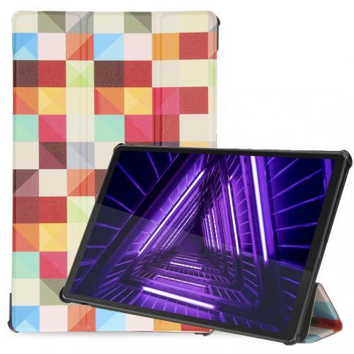 Design Trifold Bookcase voor de Lenovo Tab M10 Plus / M10 FHD Plus - Kleurtjes