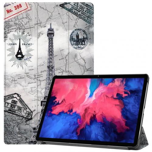 Design Trifold Bookcase voor de Lenovo Tab P11 - Parijs