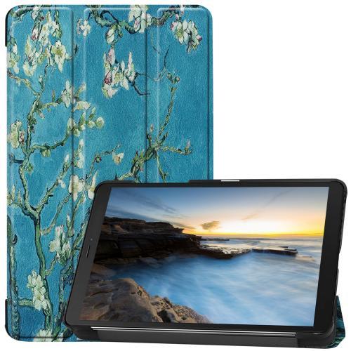 Design Trifold Bookcase voor de Samsung Galaxy Tab A 8.0 (2019) - Green Plant Design