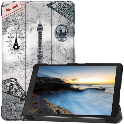 Design Trifold Bookcase voor de Samsung Galaxy Tab A 8.0 (2019) - Parijs