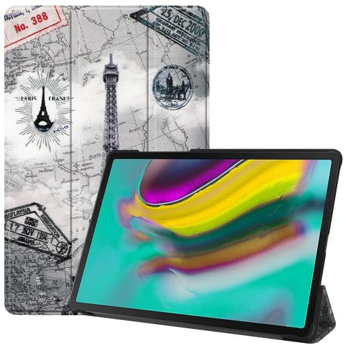 Design Trifold Bookcase voor de Samsung Galaxy Tab S5e - Parijs
