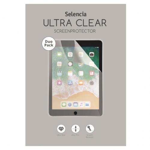 Duo Pack Ultra Clear Screenprotector voor de Samsung Galaxy Tab A 10.1 (2019)
