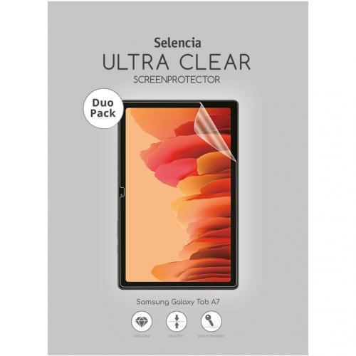 Duo Pack Ultra Clear Screenprotector voor de Samsung Galaxy Tab A7