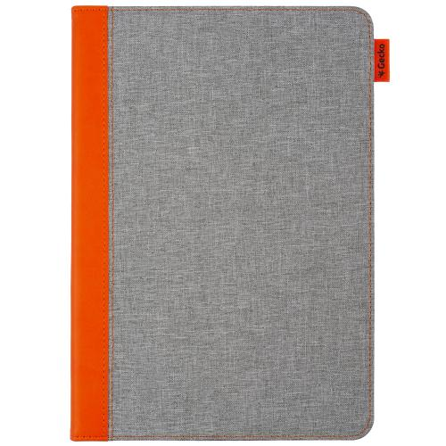 Easy-Click Bookcase voor de iPad 10.2 (2019) - Grijs / Oranje