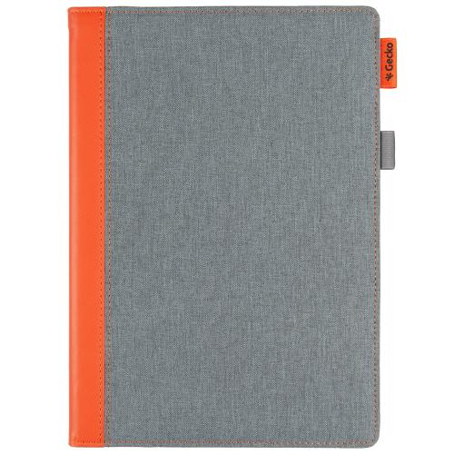 Easy-Click Bookcase voor iPad Pro 10.5 / Air 10.5 - Grijs / Oranje