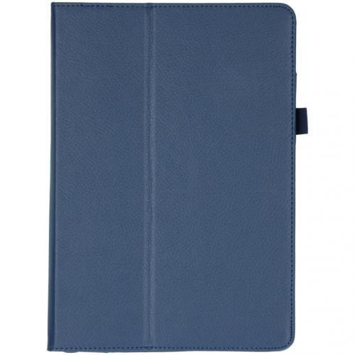 Effen Bookcase voor de iPad 10.2 (2019) - Donkerblauw