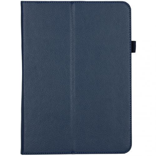 Effen Bookcase voor de iPad Pro 11 (2020) - Donkerblauw