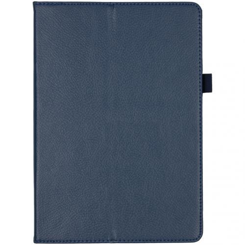 Effen Bookcase voor de Lenovo Tab M10 - Donkerblauw