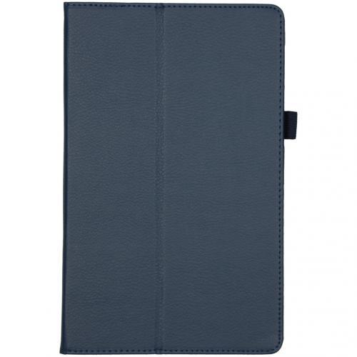 Effen Bookcase voor de Lenovo Tab M10 Plus - Donkerblauw