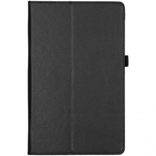 Effen Bookcase voor de Lenovo Tab M10 Plus - Zwart
