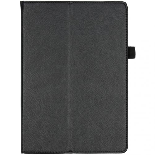 Effen Bookcase voor de Lenovo Tab M10 - Zwart