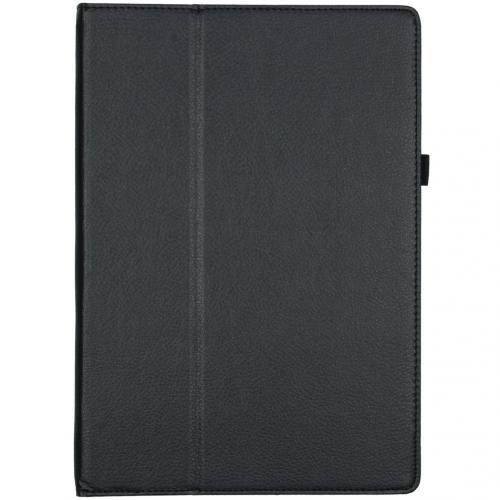 Effen Bookcase voor de Microsoft Surface Pro 7 - Zwart