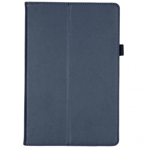 Effen Bookcase voor de Samsung Galaxy Tab S5e - Donkerblauw
