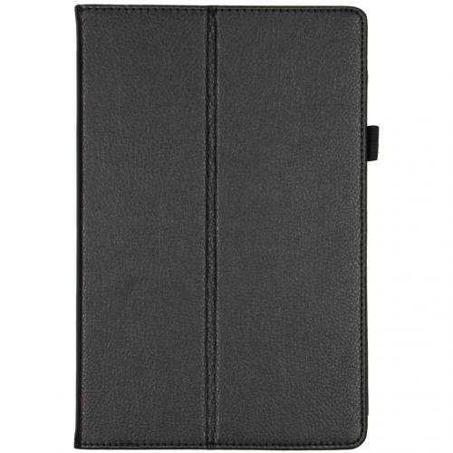 Effen Bookcase voor de Samsung Galaxy Tab S5e - Zwart