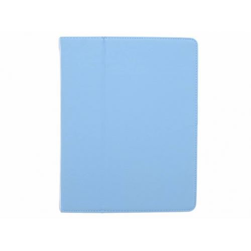 Effen Bookcase voor iPad 2 / 3 / 4 - Lichtblauw