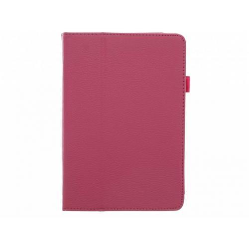 Effen Bookcase voor iPad Mini / 2 / 3 - Fuchsia