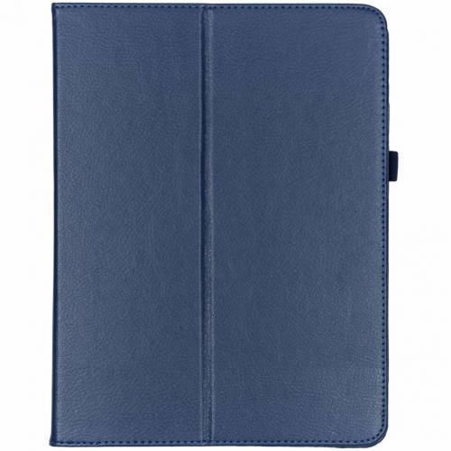 Effen Bookcase voor iPad Pro 12.9 (2018) - Donkerblauw