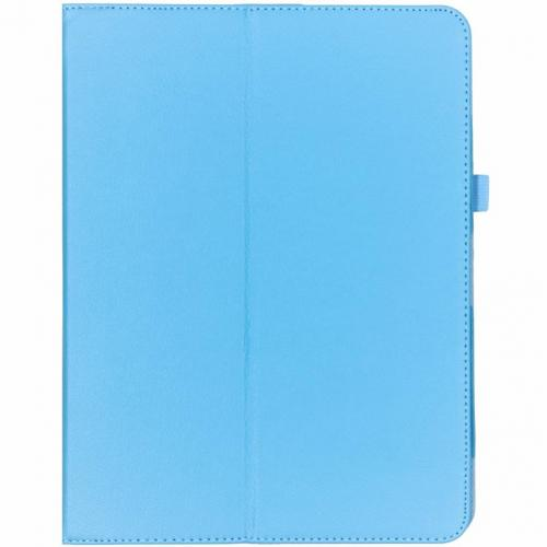 Effen Bookcase voor iPad Pro 12.9 (2018) - Lichtblauw