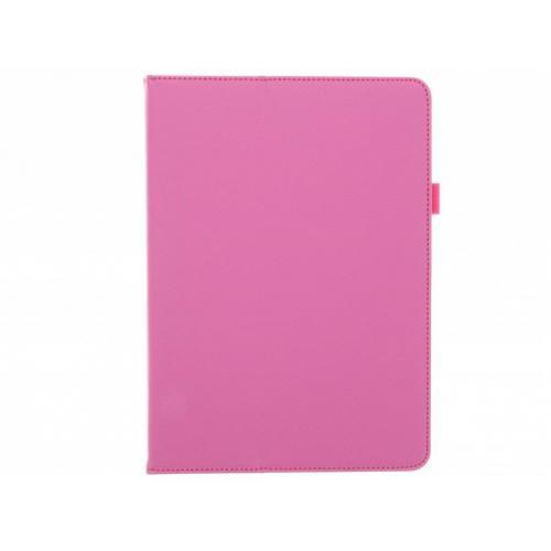 Effen Bookcase voor iPad Pro 9.7 - Fuchsia
