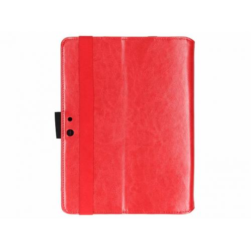Effen Bookcase voor Microsoft Surface Go - Rood