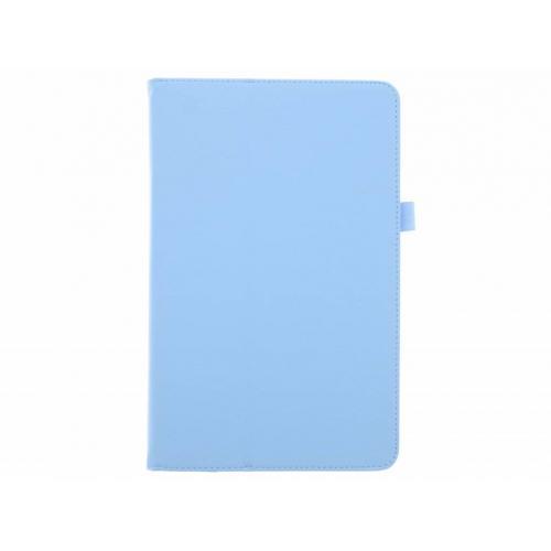 Effen Bookcase voor Samsung Galaxy Tab E 9.6 - Lichtblauw