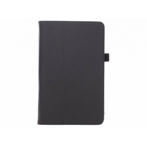 Effen Bookcase voor Samsung Galaxy Tab E 9.6 - Zwart