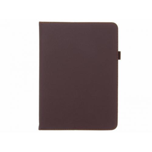 Effen Bookcase voor Samsung Galaxy Tab S3 9.7 - Bruin