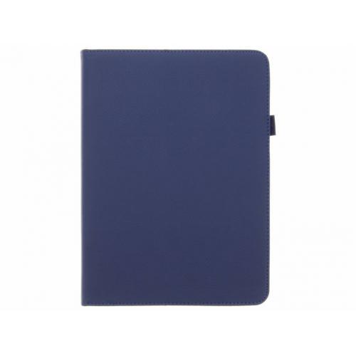 Effen Bookcase voor Samsung Galaxy Tab S3 9.7 - Donkerblauw