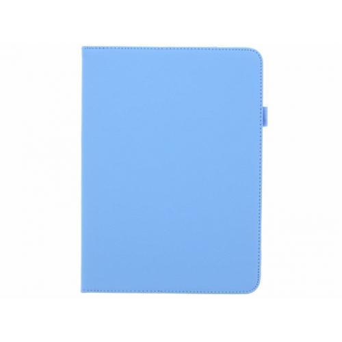 Effen Bookcase voor Samsung Galaxy Tab S3 9.7 - Lichtblauw