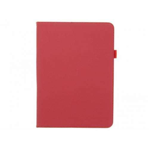 Effen Bookcase voor Samsung Galaxy Tab S3 9.7 - Rood