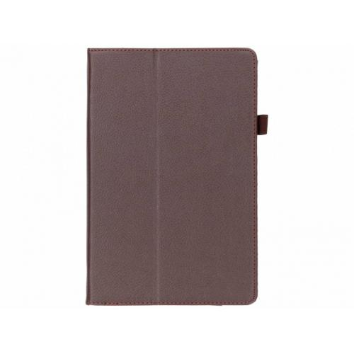 Effen Bookcase voor Samsung Galaxy Tab S4 10.5 - Bruin
