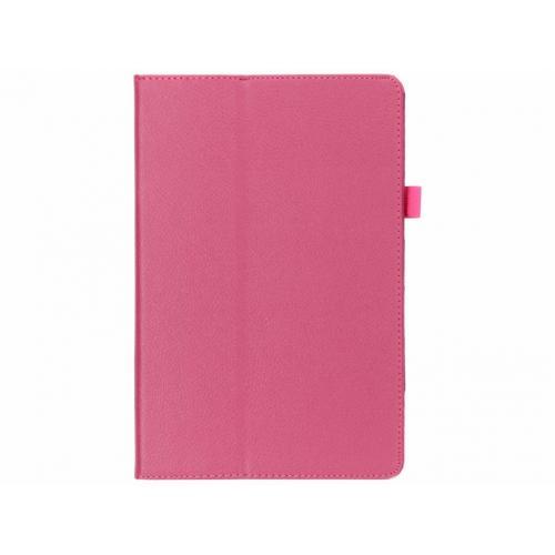 Effen Bookcase voor Samsung Galaxy Tab S4 10.5 - Fuchsia