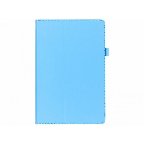 Effen Bookcase voor Samsung Galaxy Tab S4 10.5 - Lichtblauw