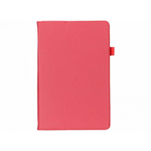 Effen Bookcase voor Samsung Galaxy Tab S4 10.5 - Rood