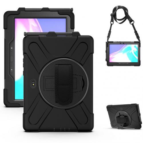 Extreme Backcover Shoulder Strap voor de Samsung Galaxy Tab Active Pro - Zwart