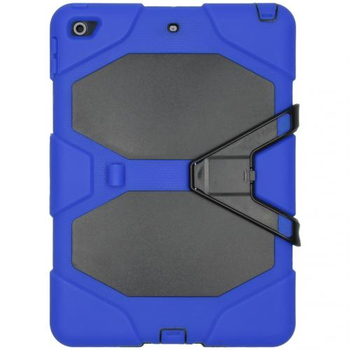 Extreme Protection Army Backcover voor de iPad 10.2 (2019 / 2020) - Blauw