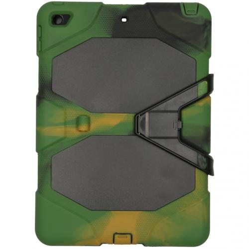 Extreme Protection Army Backcover voor de iPad 10.2 (2019) - Groen