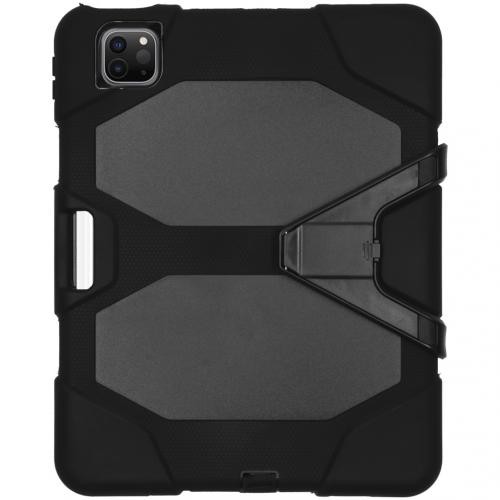 Extreme Protection Army Backcover voor de iPad Air (2020) - Zwart