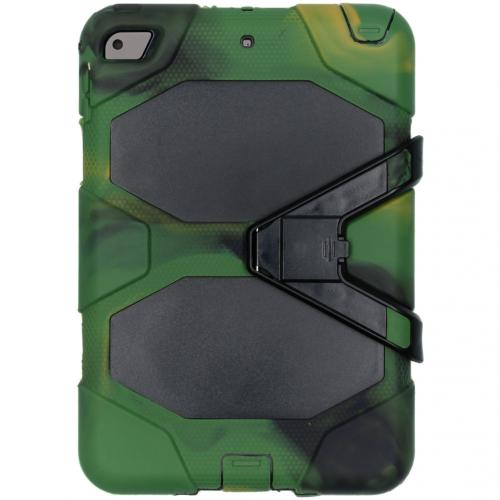 Extreme Protection Army Backcover voor de iPad mini (2019) / iPad Mini 4 - Groen