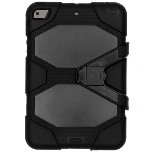 Extreme Protection Army Backcover voor de iPad mini (2019) / iPad Mini 4 - Zwart