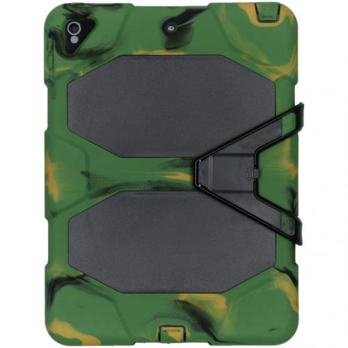 Extreme Protection Army Backcover voor de iPad Pro 10.5 / Air 10.5 - Groen