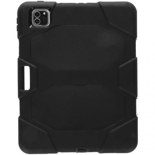 Extreme Protection Army Backcover voor de iPad Pro 11 (2020) - Zwart